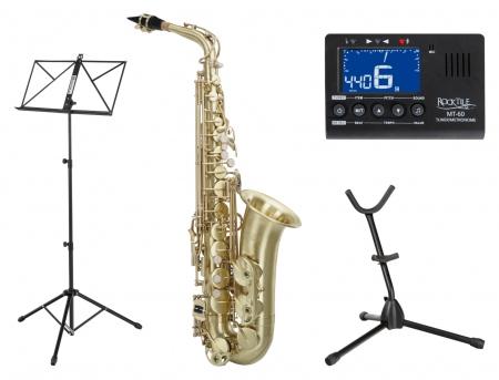 Classic Cantabile Winds AS-450 Brushed Alto Saxophone SET