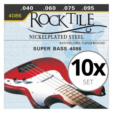 Rocktile strings for electric bass Light 10-pack