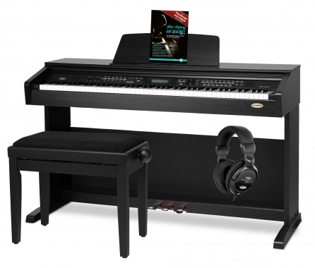 Classic Cantabile DP-A 310 SM digital piano SET black matte