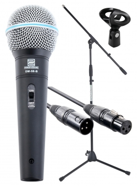 Pronomic Superstar XLR microfoonset