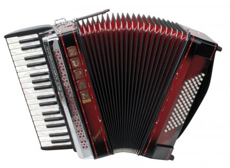 Zupan Juwel III 72 /M accordion, shadow red