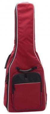 """Kirstein """"Easyline"""" housse pour guitare classique rouge vin au format 1/2"""