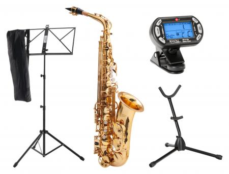 Classic Cantabile AS-450 Eb Alto Saxophone SET