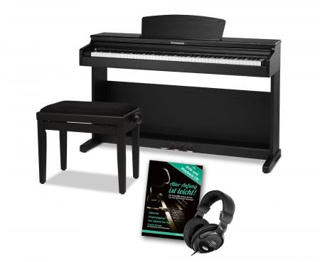 Steinmayer DP-320 SM Digital Piano Black Matte SET