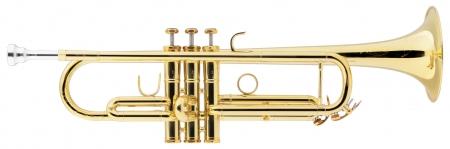 Lechgold TR-18L trompette en Sib laquée