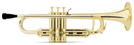 Classic Cantabile MardiBrass trompette Sib en plastique doré