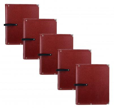 Classic Cantabile B02BR Partition Folder Standard Brown 5x Set