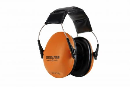 Stagecaptain ContraNoise CN-25 Auriculares de protección auditiva en naranja