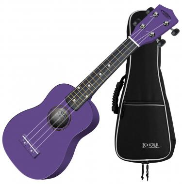 Classic Cantabile US-100 VT soprano ukulele violet SET incl. gig bag