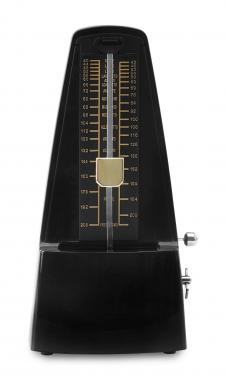 Classic Cantabile M01-BK M01 Metronome with Bell High-Gloss Black