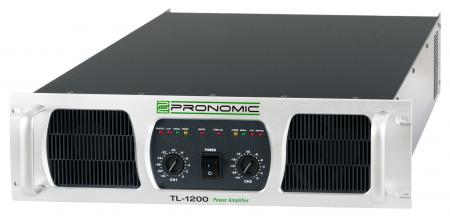 Pronomic TL-1200 power amplifier, 2 x 2400 Watts