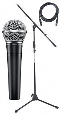 Shure SM 58-LCE Mikrofon Set