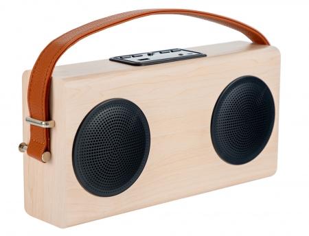 Bennett & Ross Stavanger Bluetooth Boombox Speaker with FM Radio and Power Bank