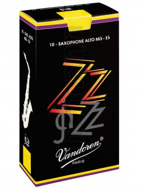 Vandoren 10er Pack Blätter Altsaxophon ZZ Stärke 2