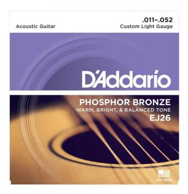 D'Addario EJ 26 Fosfor Brons