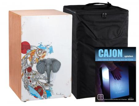 XDrum Cajon Wildlife Beat SET incl. Cajon and Bag