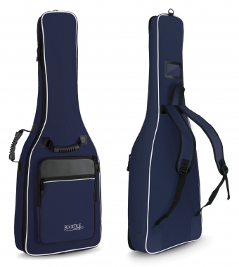 Rocktile 3/4 & 7/8 Classical Guitar Gig Bag Padded + Backpack Straps Blue