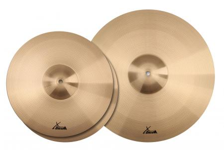 XDrum Eco Stage Set de Cymbales