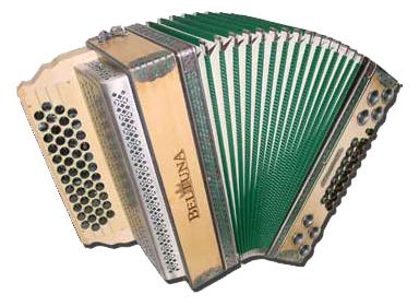 Beltuna Alpstar IV D DeLuxe Harmonika 4-reihig, 3-chörig Natur