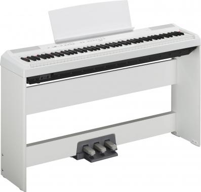 Yamaha P-115WH Stage Piano White SET inkl. Homeständer und Pedaleinheit