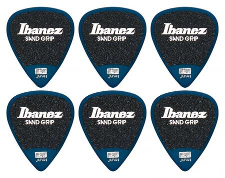 Ibanez PA14HSG-DB Picks Wizard Sand Heavy - 6er Pack