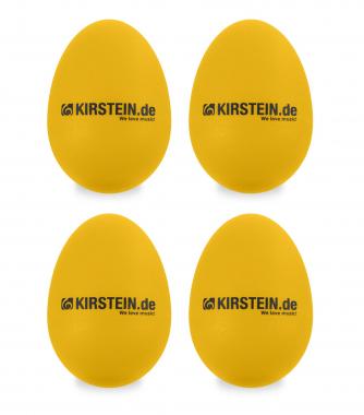 4x Kirstein ES-10Y Egg Shaker Yellow Heavy Set