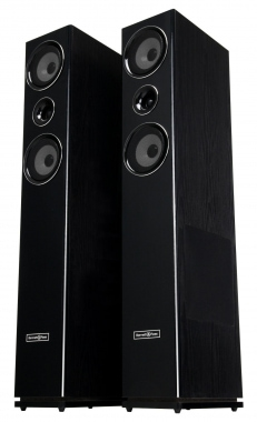 Bennett & Ross Stratosphere MK11 HiFi Tower Speaker Pair – Black 2 x 150W RMS