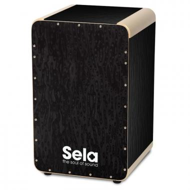Sela Wave Cajon Black Pearl