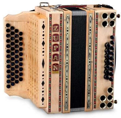 Zupan Eco 4/III harmonica sol-do-fa-si aulne