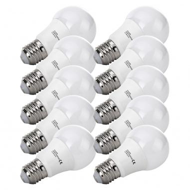 10-Piece SET Show Lite LED Bulb G60E27W06K30N 6 Watts, 480 Lumens, E27 Socket, 3000 Kelvin
