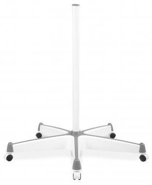 Lumeone RS-100W statif roulant pour lampe-loupe blanc