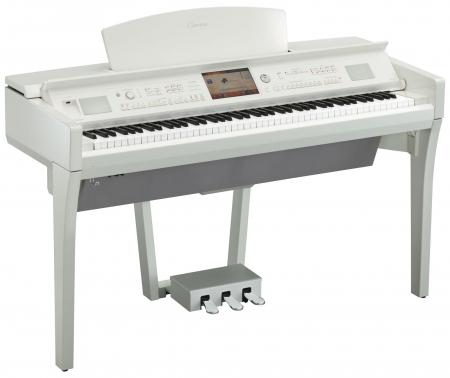 Yamaha CVP-709 PWH Clavinova Digitalpiano Weiß Hochglanz