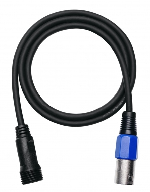 Cable adaptador IP65 de 1 m Pronomic Stage DMXIP-IN-1 DMX