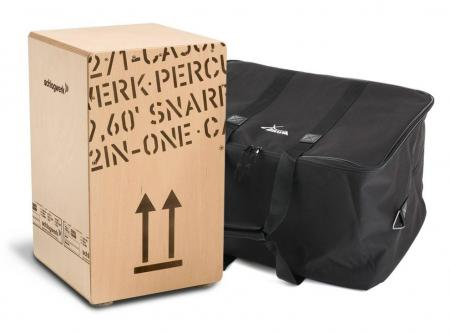 Schlagwerk CP 404 Snare Cajon Large Set inkl. Tasche