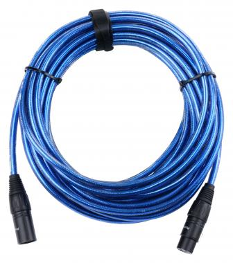 Pronomic Stage XFXM-Blue-10 Microphone Cable XLR Metallic Blue 10 m