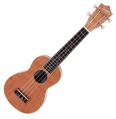 Classic Cantabile US-600 OKO Soprano (Ukulele, Uke, Neck: Okoume, Top: flamed Okoume) Okoume body