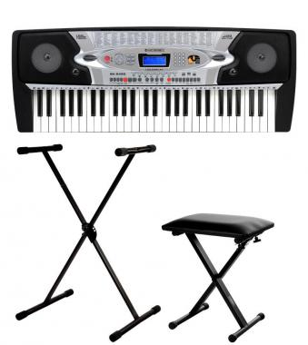 McGrey BK-5420 Beginner Keyboard SET incl. Stand and Bench