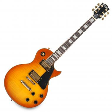 Rocktile Pro LP-200OHB Chitarra elettrica Orange Honey Burst