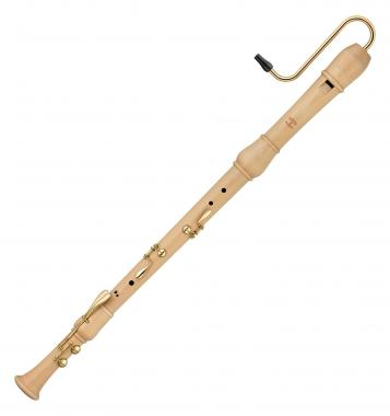 Moeck 2520 Bass Flauto Rondo Barock Ahorn