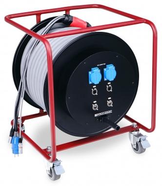 Pronomic Stage EUCATDMX22-50 hybride kabeltrommel 50 meter