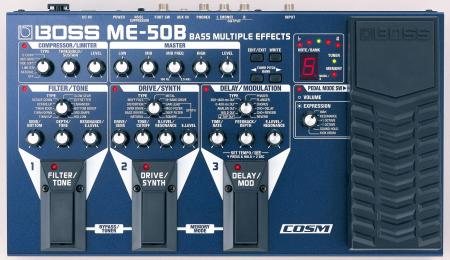 Boss ME-50B Bassmultieffekt