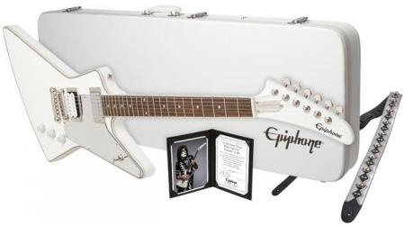 "Epiphone Ltd. Ed. Tommy Thayer ""White Lightning"" Explorer Outfit"