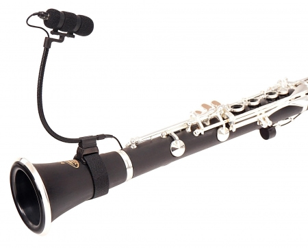 Pronomic MCH-100K Instrumental Microphone SET for Clarinet and Similar Instruments