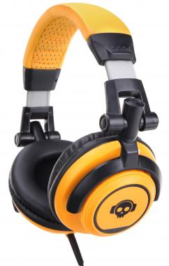 Pronomic SLK-40OR StudioLife Headphones orange incl. 3.5/6.35 mm adapter