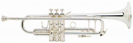 Bach LT180S-43 Stradivarius Bb-Trompete versilbert