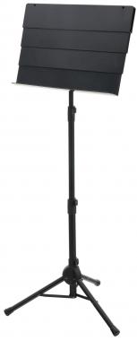 Classic Cantabile SM-100 telescopische orkestlessenaar, zwart