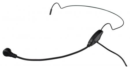Pronomic HS-65 EA Headset Schwarz
