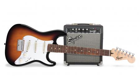 Fender Squier Strat Pack Short Scale BSB