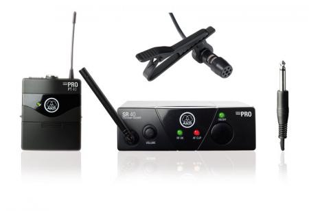 AKG WMS 40 Mini Presenter Komplettset 2, inkl. Lavalier-Mikrofon