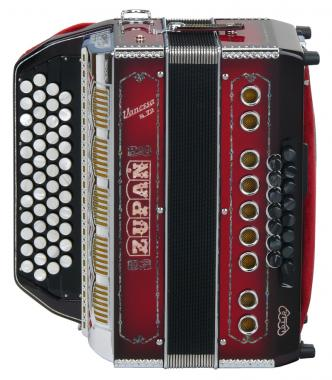 Zupan Vanessa S72 diatonic accordion (completely handmade)